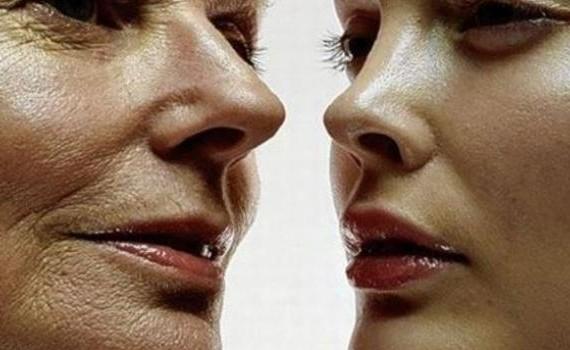 млада и стара жена